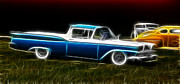 1957 Ford Custom Prints - Ford Ranchero Print by Steve McKinzie