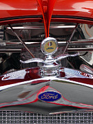 Radiator Cap Posters - Ford Poster by Skip Willits