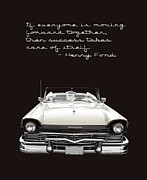 Fairlane Photos - Ford Success Poster by Edward Fielding