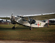 Ford Trimotor Photos - Ford Trimoter Vintage Aircraft by Tim Rutz