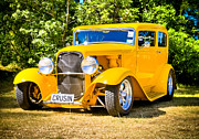 Aotearoa Metal Prints - Ford Tudor Hot Rod Metal Print by motography aka Phil Clark