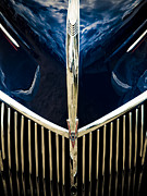 Motography Posters - Ford V8 Grill Poster by Phil