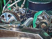 Ford V8 Prints - Ford V8 Print by Sharon Lisa Clarke