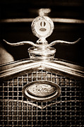 Motor Metal Prints - Ford Winged Moto Meter Metal Print by Jill Reger