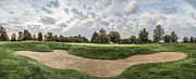Universities Art - Forest Akers Golf Course Sand Trap by John McGraw