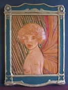 Princess Reliefs Prints - Forest Fairy Print by Ron Moses