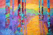 Nancy Jolley Art - Forest Fantasy by Nancy Jolley