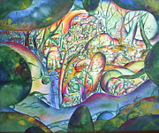 The Universe Painting Originals - Forest by Marat Ivanov