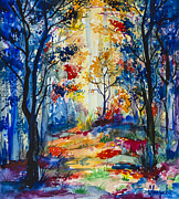 Bulgaria Art - Forest by Slaveika Aladjova