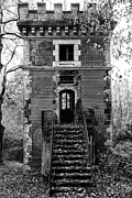 Haunted House Photo Prints - Forest Tower Print by Georgia Fowler