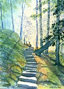 Pathways Painting Originals - Forest Trod by Glenn Marshall