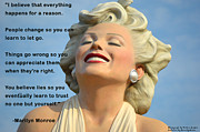 Believe Digital Art - Forever Marilyn I Believe by Barbara Snyder