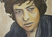 Bob Dylan Painting Originals - Forever Young by Jamie Chase