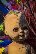 Decaying Art - Forgotten baby doll by Garry Gay