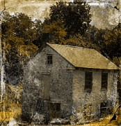 Forgotten Barn Print by Marcia Lee Jones