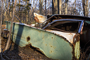 Junk Car Framed Prints - Forgotten Classic Framed Print by Andrew Pacheco
