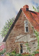 Rust Paintings - Forgotten Dreams of Old by Mary Ellen  Mueller-Legault