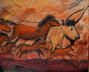 Cave Paintings - Forgotten Dreams Series    On the Run by Mark Malone