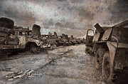 Trucks Prints - Forgotten Heroes Print by Jason Green