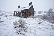Winter Scene Metal Prints - Forgotten in Time Metal Print by Darren  White
