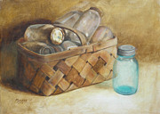 Kathy Morris Paintings - Forgotten by Kathy Morris