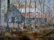 Arkansas Paintings - Forgotten by Martha Efurd