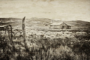 Barn Boards Prints - Forgotten Past Print by Margie Hurwich