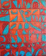 Bernard Goodman Metal Prints - Forgotten Runes Of Ljung Metal Print by Bernard Goodman