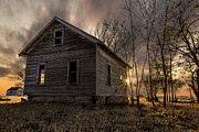 Abandoned House Art - Forgotten V by Aaron J Groen