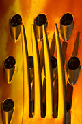 Shredder Acrylic Prints - Fork Abstract Grater 2 Acrylic Print by John Brueske