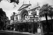 Florida House Framed Prints - Former Strand Movie House Cinema Now A Walgreens Drugstore Duval Street Key West Florida Usa Framed Print by Joe Fox