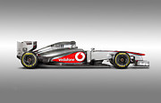 Hot Car Prints - Formula 1 McLaren MP4-28 2013 Print by Sanely Great
