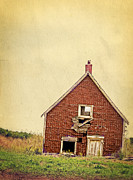 Abandoned Metal Prints - Forsaken Dreams Metal Print by Edward Fielding