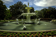 Victorian Prints - Forsyth fountain2 Print by Ajrp Fornewt