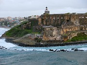 Puerto Rico Photo Originals - Fort and City San Juan by Steven Parker