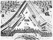 Fort Caroline, 1564 Print by Granger