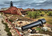 Dry Tortugas Photo Prints - Fort Defense Print by Adam Jewell
