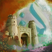 Fort Metal Prints - Fort Fahidi Metal Print by Corporate Art Task Force