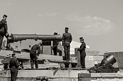 Responsibility Digital Art - Fort Henry Loading the Canon by Gord Horne