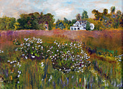 Cape Cod Paintings - Fort Hill Spring by Michael Helfen