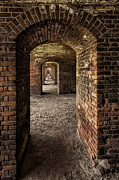 Dry Tortugas Framed Prints - Fort Jefferson I Framed Print by Alex Mironyuk