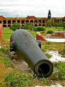 Dry Tortugas Prints - Fort Jefferson II Print by David Davies