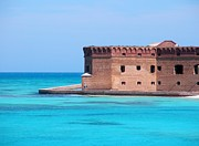 Dry Tortugas Framed Prints - Fort Jefferson Framed Print by Blind Curve Photography