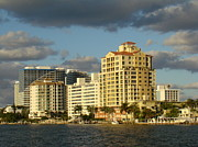 Skyscapers Prints - Fort Lauderdale Print by Eva Kato
