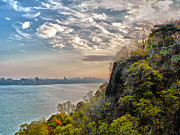 Cliff Lee Metal Prints - Fort Lee View Metal Print by Jeff Stein
