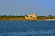 Fortress Metal Prints - Fort Matanzas - Saint Augustine Florida Metal Print by Christine Till
