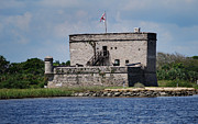 Scenic Pictures Posters - Fort Matanzas Poster by Skip Willits