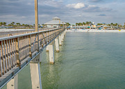 Fort Myers Beach Print by Kim Hojnacki