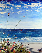 Impasto Oil Paintings - Fort Myers by David Sigel