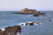 Fort Metal Prints - Fort National - Saint-Malo Metal Print by Joana Kruse